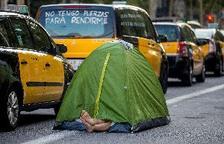 Los taxistas de Barcelona barajan dar una
