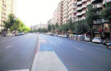L'agost calent a Lleida