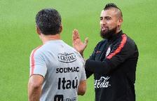Vidal deixa la concentració del Bayern entre rumors de fitxatge pel Barça
