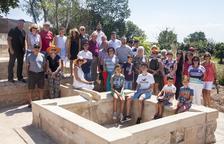 Almenara inaugura la restauración de los lavaderos