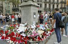 Tramitadas 94 peticiones para reconocer a víctimas del atentado de las Ramblas
