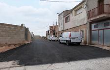Obres de millora en places i carrers de les Borges