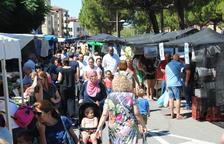 El mercado de Mollerussa, lleno en un día festivo