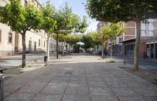 Cervera acaba la renovación del paseo Jaume Balmes