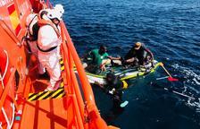 Rescatados en solo 24 horas 230 migrantes en el Estrecho y Alborán
