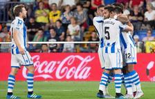 La Reial Societat remunta el gol de Gerard Moreno i guanya a Vila-real