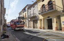 Ferida greu en un incendi al seu habitatge a Preixens
