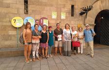 Cadena humana a Lleida per la llibertat dels presos