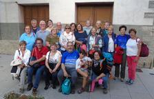 Excursió de veïns de Vilaller a Artosta