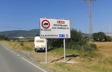 El desvío obligatorio de camiones de la N-240 a la AP-2, en septiembre