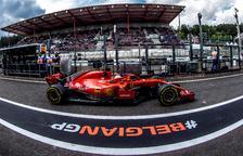 Raikkonen lidera la primera jornada a Spa al davant dels Mercedes