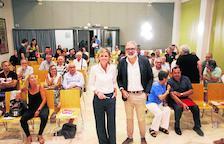 Mínguez y Larrosa pugnan por el voto de los militantes más jóvenes