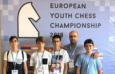 Guerau Masagué, a l'Europeu d'escacs