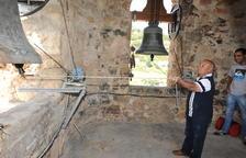 Guàrdia de Noguera recupera les campanes, que ja poden bandejar