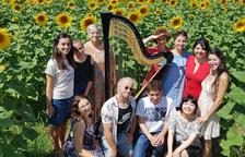 Setena edició del Curs Internacional d'Arpa a l'Horta de Lleida