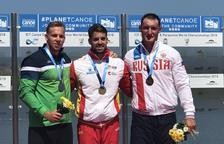 Segona medalla de plata per a Craviotto en el Mundial