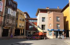 Obras en el centro obligan a cortar parte del Segoñé en Fraga