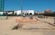 El segundo aulario de Cappont, ya en construcción