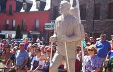 Polémica por una estatua de tributo a militares en Vielha