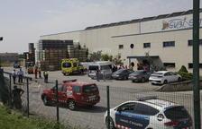 Una decena de afectados por inhalar amoníaco en una fuga en una empresa de Torre-serona