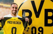 """Paco Alcácer, """"molt feliç"""" al firmar pel Borussia"""