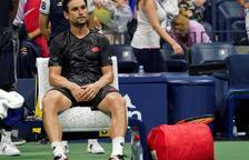 Nadal supera Ferrer, que diu adéu lesionat al seu últim Grand Slam