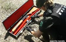 Rurals aixequen 3 actes a Preixana per caçar merles i utilitzar munició prohibida