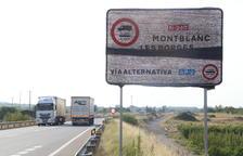 Trànsit prevé activar el domingo el desvío obligatorio de camiones a la AP-2