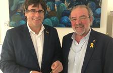 Reñé es reuneix amb Puigdemont a Brussel·les