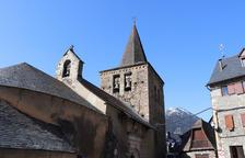 Actuación urgente para reparar dos grietas en la iglesia de Gessa