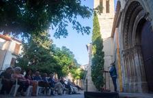 Inauguración oficial de la restaurada torre de Vilagrassa