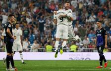 Benzema i Bale lideren la golejada