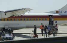 Alguaire finalitza la campanya d'estiu a l'aeroport i manté passatgers