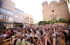 Alcarràs celebra medio siglo de 'pubilles' en su Festa Major
