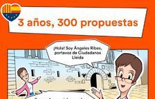 Ciutadans difon en forma de còmic les seues propostes