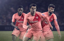 Els colors de la Diada, a la tercera equipació del Barça