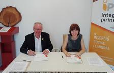 Aspid e Integra Pirineu unen fuerzas para favorecer la inclusión laboral en el Alt Urgell