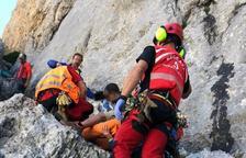 Mor el bomber de la Seu d'Urgell que va caure mentre escalava a Astúries
