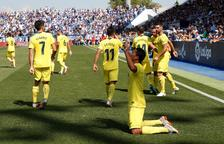 Primer triomf del Vila-real amb un tocat Leganés