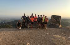Dos lleidatans pugen un 'Everest' a la Noguera