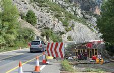 Cortes hasta el 12 de octubre en la C-14 por las obras de Tres Ponts