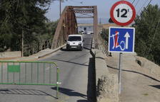 Menàrguens repara parte del Pont de Ferro