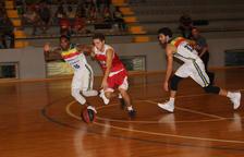 Andorra i Manresa omplen el pavelló de Balaguer en un partit de pretemporada de l'ACB de caràcter benèfic