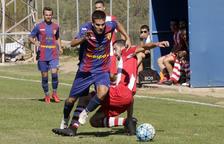 El Soses s'entrebanca amb un rival amb 10