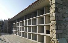 La capital finaliza la construcción de 116 nichos en el cementerio