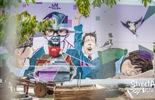 Un grafiti escolar, premio del público en Torrefarrera