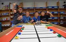 Micromecenatge d'un col·legi de la Seu per poder anar al campionat de robòtica