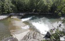 Retraso en las obras para salvar la presa de L'Hostalet