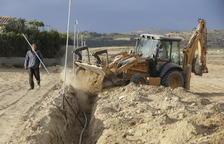 El 80% de los regantes del último tramo del Algerri-Balaguer se vuelcan en instalar el riego