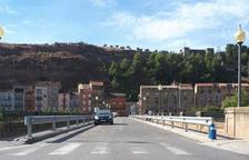 Balaguer estudia con el Govern ampliar el puente de Sant Miquel